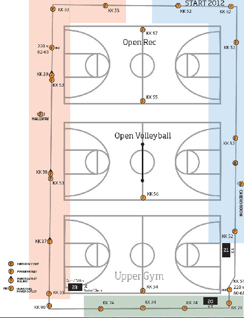 Facility Maps | Recreational Sports | Oregon State University