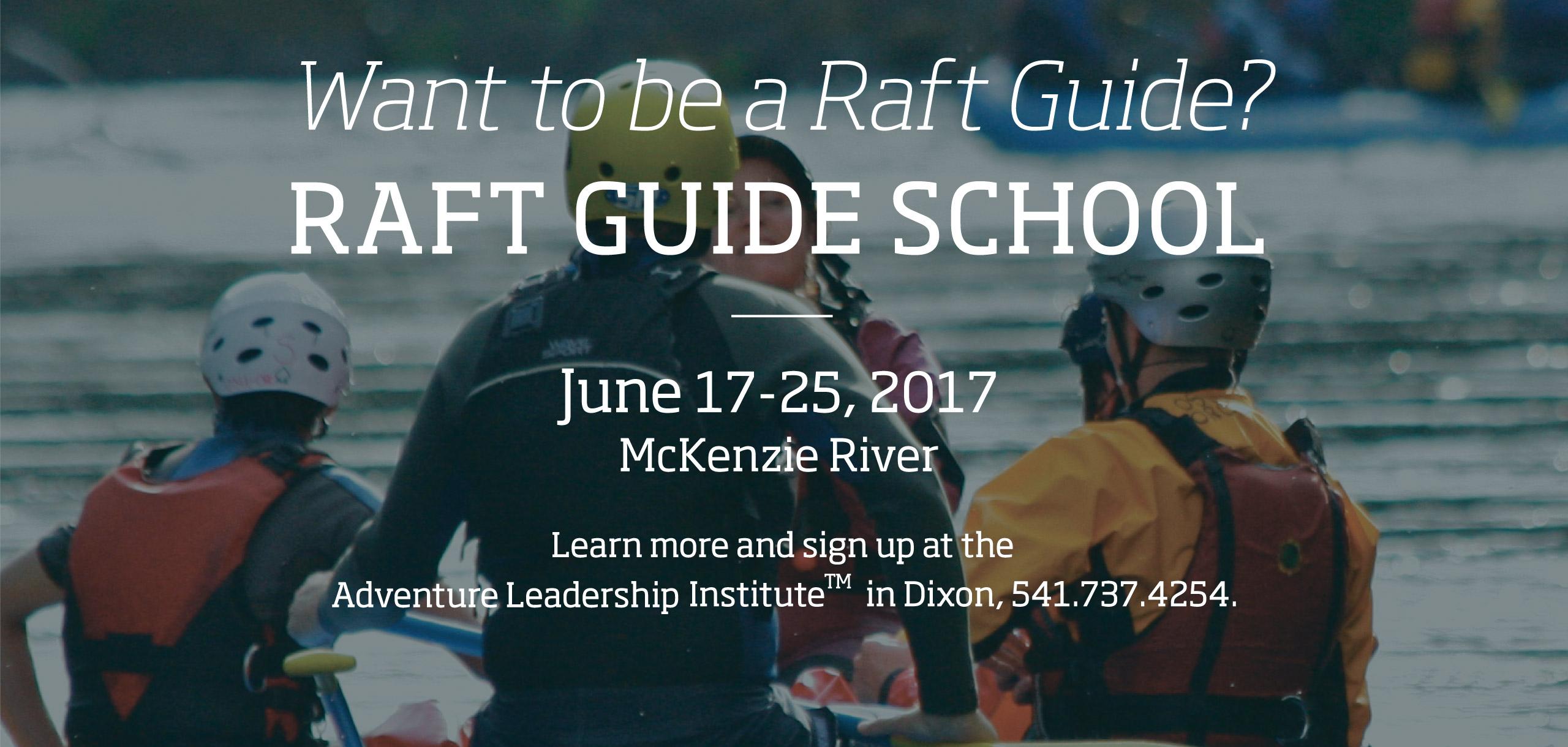 Raft Guide School