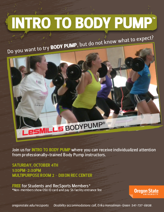 Intro to Body Pump