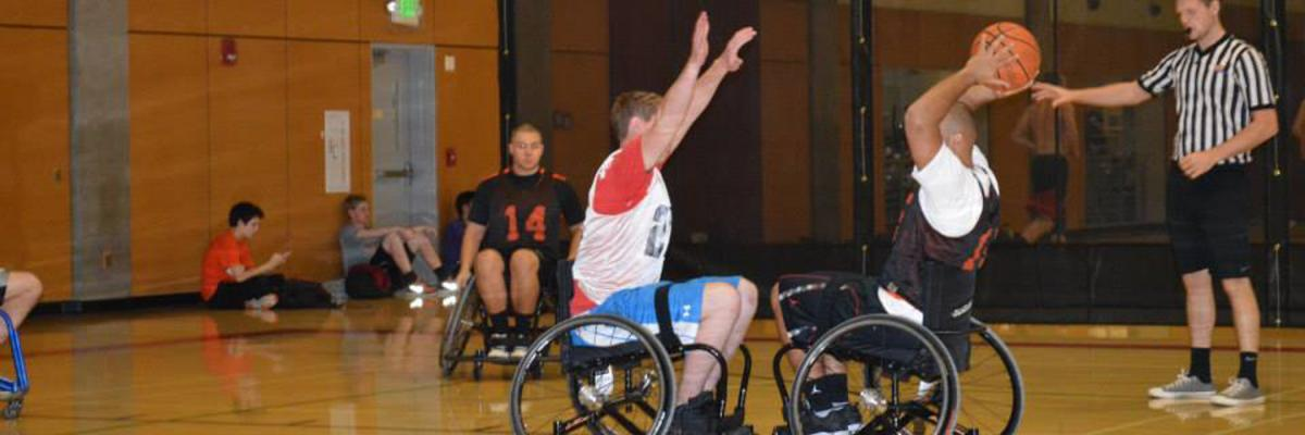 Wheelchair Basketball Oregon State University Intramural Sports