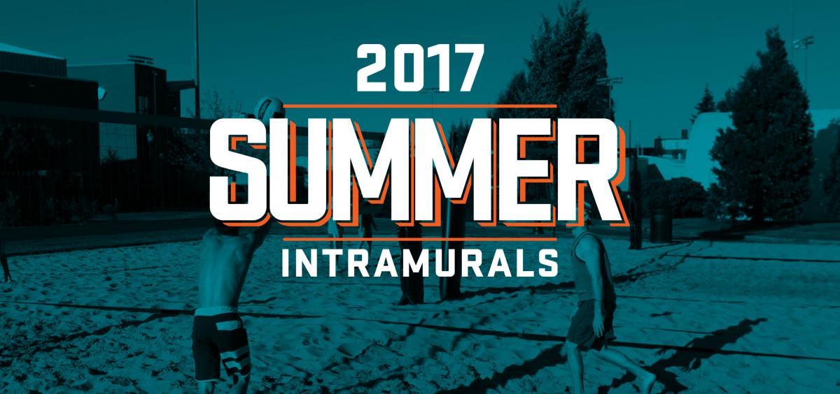 Summer 2017 Intramural Sports